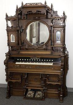 Kimball Victorian Furniture | Packard W reed organ
