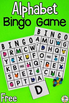 This ABC Bingo Game is an engaging and educational bingo game for kids to play in small groups, with a partner, or even by themselves as an enrichment activity. This Alphabet Bingo Game is perfect for gameschooling too! It's a fun letter recognition activity for pre-readers who are learning the ABC's! Click on the picture to get the free printable ABC Bingo Game! #abcbingo #letterrecognitionactivity #learningtheabcs #gameschooling #alphabetactivity Abc Bingo, Bingo Games For Kids, Alphabet Bingo, Enrichment Activities, Alphabet Activities, Educational Activities, Activities For Kids, Abc Coloring Pages, Do A Dot