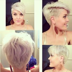 picture of short hairstyle, new look of short hair for girls number 258