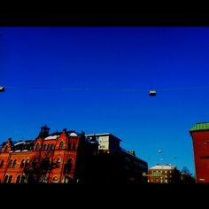 Stad i sol