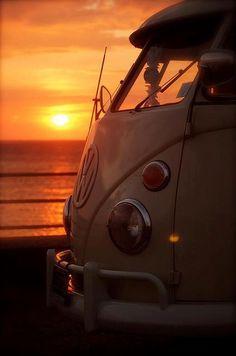 kombi sunset