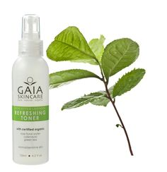 Grönt te innehåller antioxidanter som motverkar de processer som påskyndar hudens åldrande.