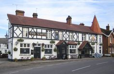 The Swan, Walton-on- Thames. The Broadway composer Jerome Kern married the landlord's daughter, Eva Leale.
