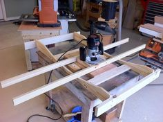 Stools & Router Jig for my daughter