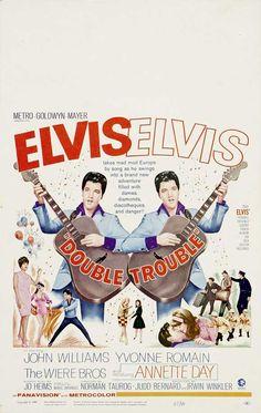 Elvis Movie Poster - Double Trouble - 1967