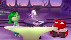 Great idea!  Anger, Fear, Digust—how are they supposed to be happy?!  Check out this clip from Disney/Pixar's Inside Out, in theatres June 19th.