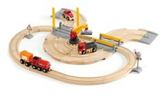BRIO - Rail & Road Crane Set