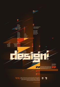 via Typographic posters