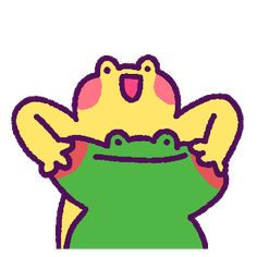 Cute Drawings, Animal Drawings, Character Art, Character Design, Frog Drawing, All Meme, Frog Art, Cute Art Styles, Cute Frogs