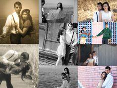 Engagement Photo Ideas.  Taken in Alviso, CA.  Vintage style theme.