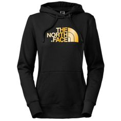 The North Face Half Dome Hoodie - Women's - Tnf Black/Gold Foil