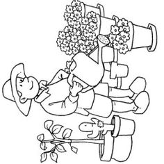 imagens de profissões para colorir - Pesquisa Google Smurfs, Images, Drawings, Fictional Characters, Colouring In, Farmhouse, Vegetable Gardening, Lawn And Garden, Spring