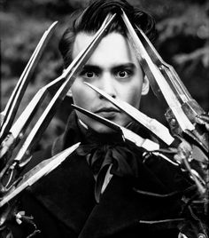 Edward Scissorhands. My first crush, yes, I'm odd