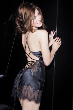 Marjolaine Libertine silk chemise