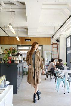 Hull Line Shawl Jacket   Korean Fashion