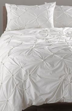 Nordstrom at Home Gathered Duvet Cover available at #Nordstrom