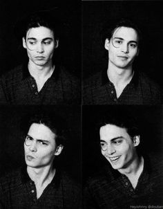 Johnny Depp expressions