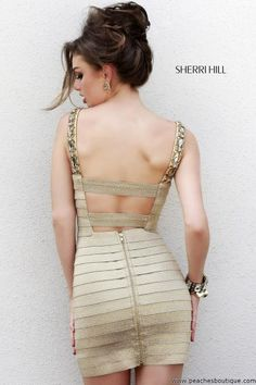 Sexy Sherri Hill Short Prom Dress 32046