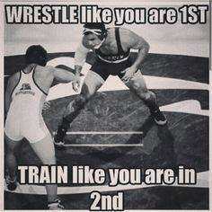 TRAIN LIKE YOU ARE IN 2ND