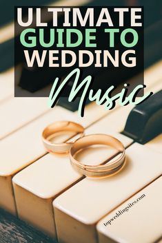 Which music should you choose for your first dance, ceremony and your entire wedding celebration?? This ultimate guide to wedding music and songs will help you plan songs for every part of your special day! #weddingsongs #weddingmusicguide #weddingplanningtips #topweddingsites
