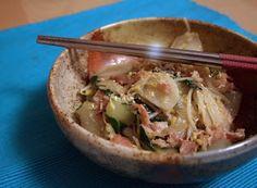 Cucinare che Passione: Gnocchi di riso con pancetta, coste e germogli di soia