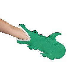 Green Gator Oven Mitt *hee her