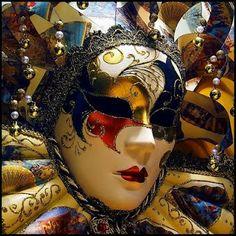 Mascara Carnaval de Venecia.