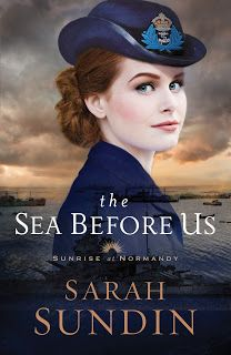 The Rustic Reading Gal: Review: The Sea Before Us (Sunrise at Normandy #1) by Sarah Sundin