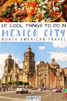 Heading to the capital of Mexico? Here are the 25 cool things to do in Mexico City, with this diverse and colorful city filled with exciting places to explore, whether you want to see the ruins, pyramids, eat local food, visit the markets, and more. Check out our travel guide and start planning your trip! | #mexico #wanderlust #travelguide Central America, North America, Latin America, Mexico Travel, Mexico Vacation, Stuff To Do, Things To Do, City North, Travel Aesthetic