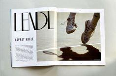 bel mondo magazine michelle obama tomas sedlacek rowling martin svoboda art direction drawing illustration