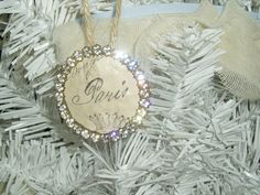 Paris ornaments for the tree