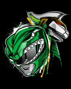 Battlemode! T-Shirt | $10 Power Rangers tee from ShirtPunch today only!