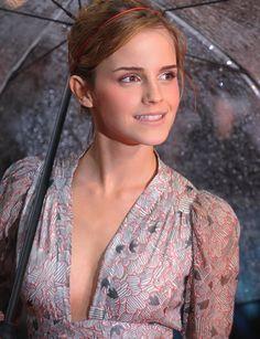 Emma Watson: It's rainy day !