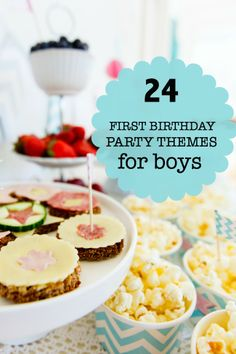 First birthday themes for boys http://spaceshipsandlaserbeams.com/blog/2013/04/party-central/first-birthday-great-party-themes-ideas-for-boys