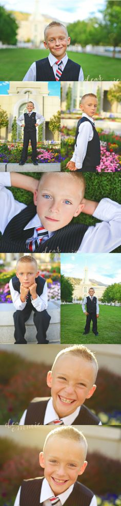 Boy Baptismal Picts - Via Dear Emmie