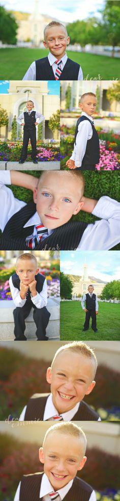 Boy Baptismal Picts - Via Dear Emmie