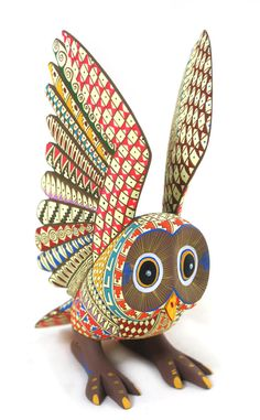 Oaxacan Owl.ALEBRIJES♦️More Pins Like This At FOSTERGINGER @ Pinterest ♦️