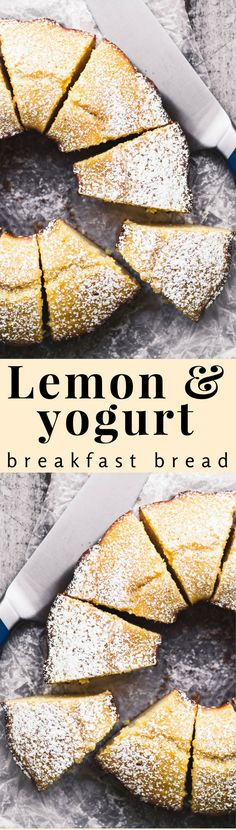 Lemon Yogurt Breakfast Cake, or Ciambella ~ this is a classic Italian style lemon bundt cake with lots of lemony flavor and a delicate crumb.
