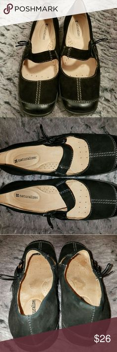 """Naturalizer Women's Shoes - """"Mary Jane"""" style 8.5M Naturalizer Black Flats-Gently Worn. Please make an offer! Naturalizer Shoes Flats & Loafers"""