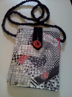 Anna Hinkle - collage cross-body bag