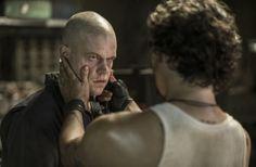 Matt Damon and Wagner Moura in 'Elysium'
