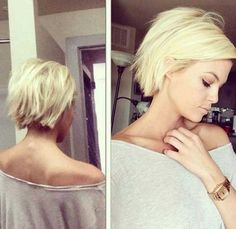 Lovely Blonde Short Hairstyle  best short hairstyles 2016-2017
