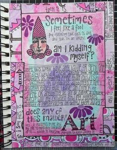 Rosie's Arty Stuff: art journal