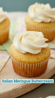 Frosting Recipes, Cupcake Recipes, Baking Recipes, Dessert Recipes, Baking Cupcakes, Cupcake Cakes, No Bake Desserts, Just Desserts, Pan Relleno