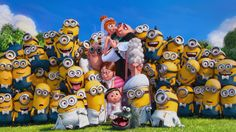 """After """"Minions"""" turned out to be hot on heels of worldwide blockbuster, Universal has lined up the release dates for the next three titles from Illumination Entertainment. Amor Minions, Minion Movie, Minions Despicable Me, Minion Party, Minions Quotes, Happy Minions, Minion Rush, Cute Minions Wallpaper, Agnes Despicable Me"""
