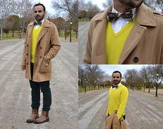 #YellowSweater (by Héctor Boy Urbandchic) http://lookbook.nu/look/4388279-YellowSweater