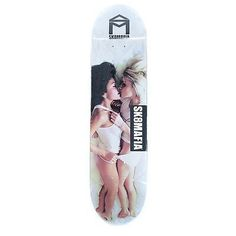 """Sk8mafia ##skateboards #girls love sk8 #skateboard deck black 8.0"""" new free delive,  View more on the LINK: http://www.zeppy.io/product/gb/2/401101793789/"""