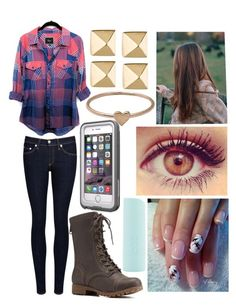 """""""October"""" by nikki-soccer on Polyvore featuring rag & bone/JEAN, Eos, Charlotte Russe, Eddie Borgo and Catbird"""