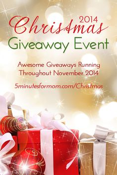2014 Christmas Giveaway Event. Check this post often to enter new giveaways added!