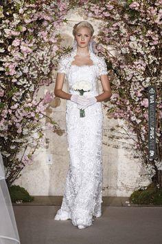 Oscar de la Renta, 2012, spring, bridal, wedding, collection | CHECK OUT MORE IDEAS AT WEDDINGPINS.NET | #weddingfashion